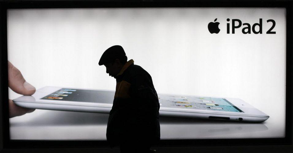 iPad na China