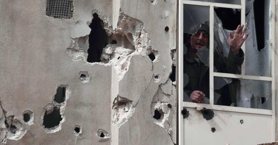 Bombardeio na Síria