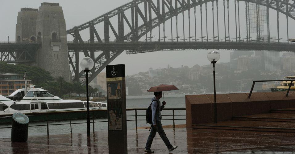 Chuva na Austrália