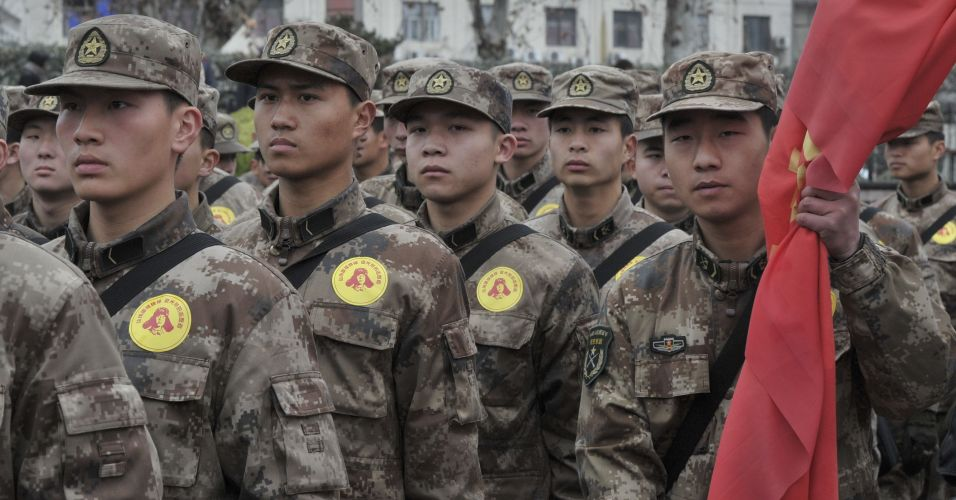 Militares chineses