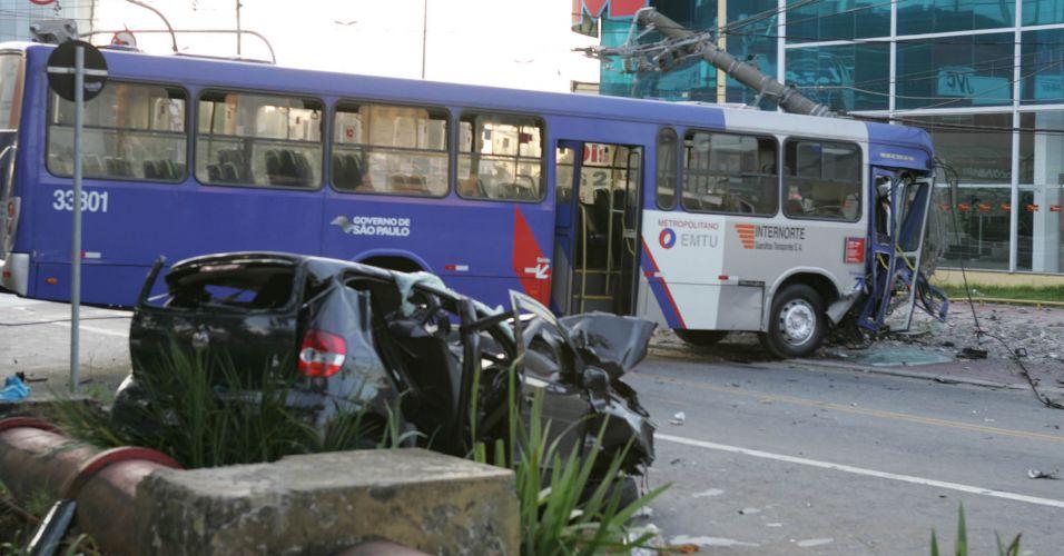 Acidente fatal em Guarulhos