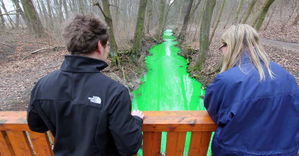 Água verde