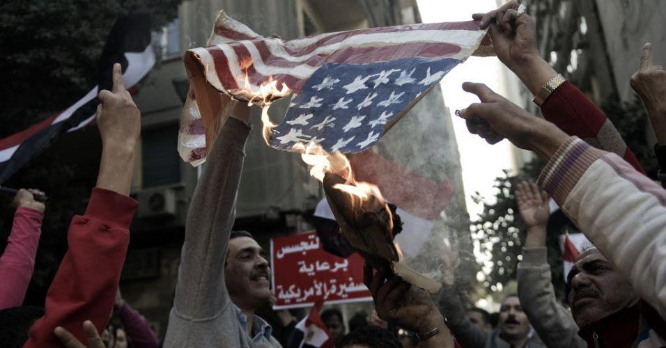 Protesto no Egito