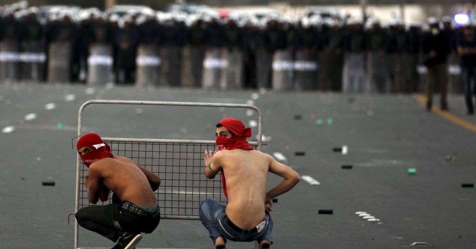 Protesto em Bahrein