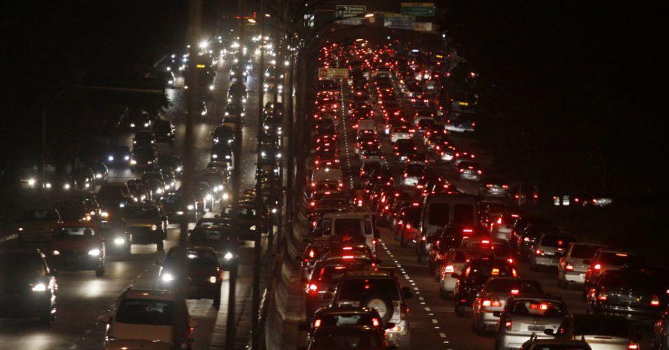 Trãnsito em São Paulo