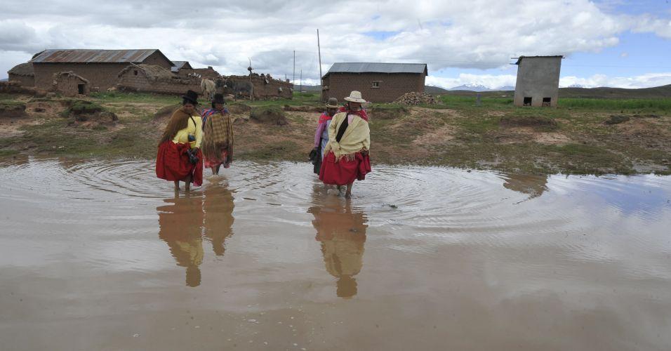 Enchente Bolívia
