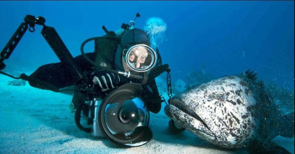 Fotógrafo enfrenta perigosos do mar