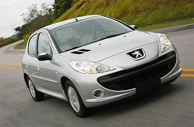 Peugeot 207 tem desempenho interessante com motores 1.4 e 1.6