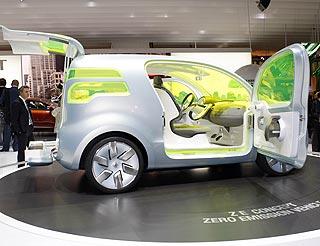 Montadoras querem ajuda para desenvolver modeloscomo o conceito Renault Zero Emission (ZE)