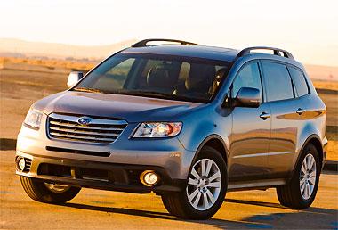 Subaru Tribeca segue receita norte-americana para SUVs e crossovers