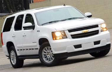 Tahoe Hybrid é a mais cara de quatro versões do utilitário da Chevrolet