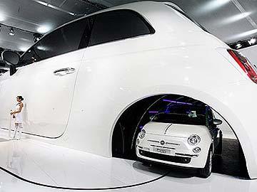 Pequenino Fiat 500 deve ser uma das grandes atrações do Salão de SP