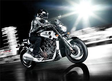Uma coisa é certa: a Yamaha V-Max nunca passará despercebida