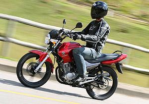 Yamaha YBR 125 2009 traz conjunto equilibrado