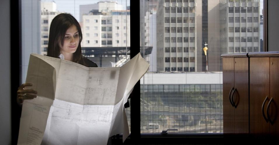 Arquiteta, profissão, emprego, mulher