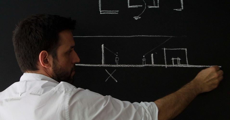 Arquiteto, profissão, criativo, desenho