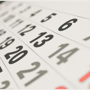 Calendário, prazo, meta, emprego - Shutterstock