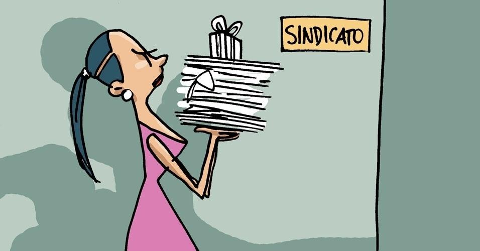 6) Se nada for feito, procure o sindicato da sua categoria. Entre as secretárias, sindicato afirma que 25% já foram vítimas de assédio sexual