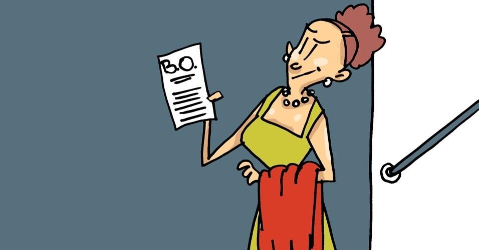 7) Outra saída é fazer um boletim de ocorrência em uma delegacia da mulher. Assédio sexual é crime previsto no Código Penal desde 2001