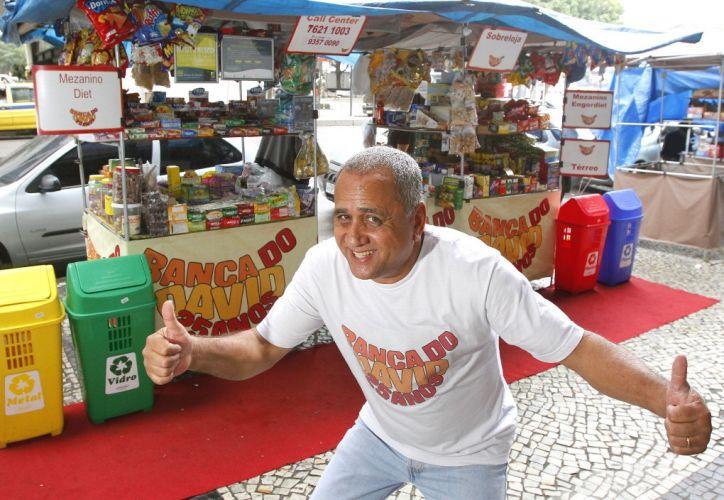 banca de doces no Centro do Rio