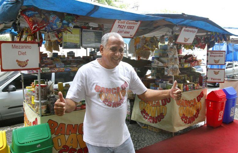 banca de doces no Centro do Rio 2