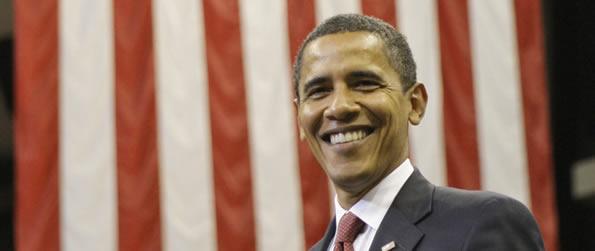 Barack Obama é o primeiro negro eleito presidente dos Estados Unidos