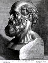 """Hipócrates afirmava que as doenças se originam no desequilíbrio dos """"humores"""""""