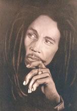 O músico jamaicano Bob Marley tornou o reggae um ritmo mundial