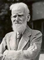 Bernard Shaw ganhou o Nobel de literatura em 1925