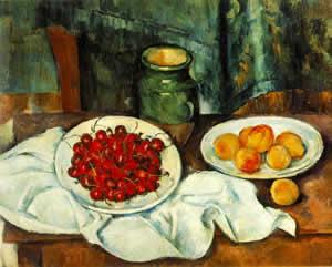 Natureza morta de Cézanne