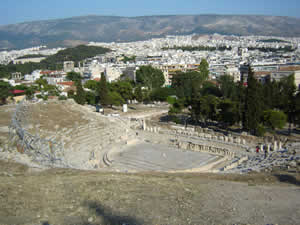 Teatro Dioniso Atenas