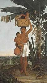 Índia retratada por Albert Eckhout (século 17) - Reprodução