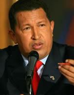 Hugo Chávez discursa após nova reeleição