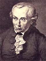 Reprodução - Immanuel Kant, aquarela de Gottlieb Doepler (1791)