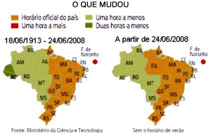 04d8d44d Os relógios da parte oeste do Estado foram adiantados em mais uma hora,  fazendo com que todo o Pará ficasse com o mesmo horário de Brasília.