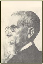 Machado de Assis, em uma<br>de suas últimas fotos