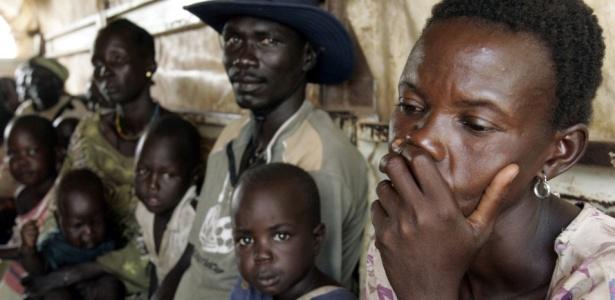 Refugiados da região de Darfur