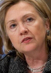 Secretária de Estado norte-americana, Hillary Clinton