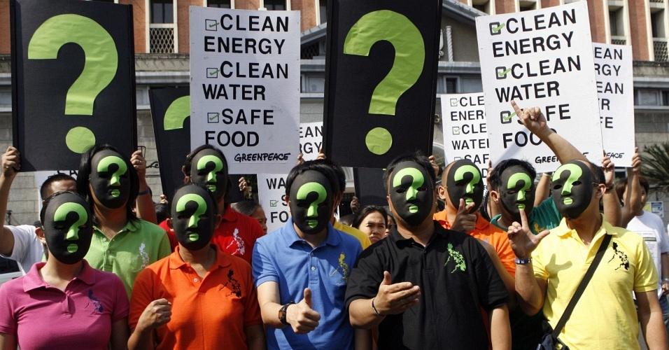 Protesto Greenpeace