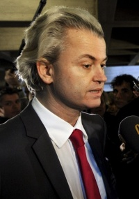 Geert Wilders, o líder populista conservador holandês,