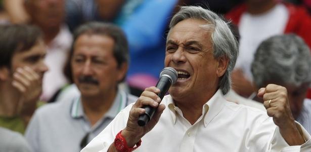 o empresário Sebastián Piñera tomou posse nesta quinta-feira (11) como presidente do Chile
