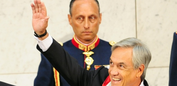 Presidente do Chile, Sebastián Piñera, toma posse