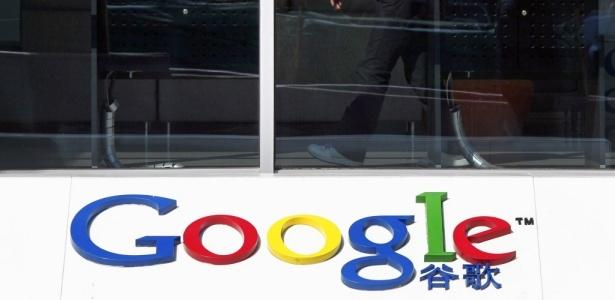Hall de entrada do edifício sede do Google em Pequim, na China. As empresas chinesas venda de espaços publicitários em páginas de busca do Google ter exigido clareza sobre os planos da empresa de Internet, advertindo que exigirá compensação se o portal se desligar do país