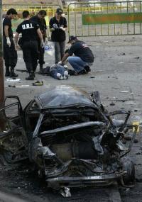 Explosão de um carro-bomba no centro da cidade portuária de Buenaventura, no sudoeste colombiano
