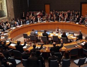 Reunião no Conselho de Segurança das ONU em 2009 vota sanções sobre a Coréia do Norte