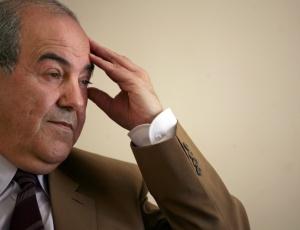 Ayad Allawi, ex-primeiro-ministro do Iraque, durante entrevista em Bagdá, capital do país. Vencedor das eleições legislativas no Iraque, mas que agora enfrenta um processo de recontagem de votos