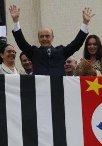 O ex-governador de São Paulo e pré-candidatura à Presidência pelo PSDB, José Serra