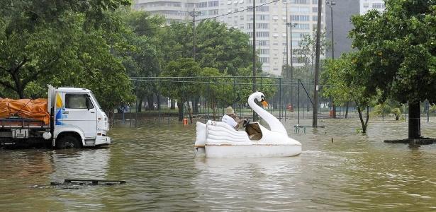 Veja mais fotos da enchente no Rio de Janeiro