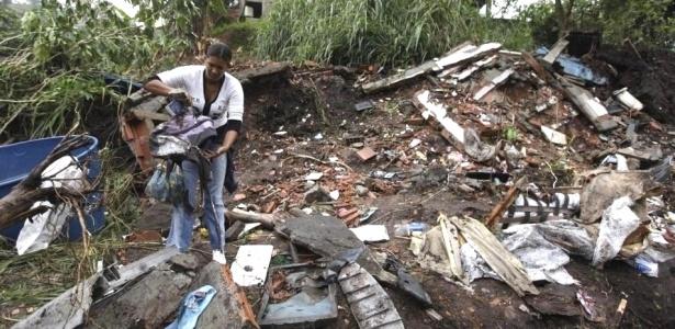 Veja mais fotos da tragédia provocada pela chuva no Rio de Janeiro