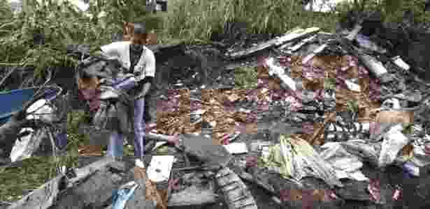 Veja mais fotos da tragédia provocada pela chuva no Rio de Janeiro   - AP